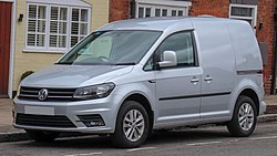 2018 Volkswagen Caddy C20 Highline TDi 2.0 Front.jpg