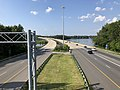2019-07-28 16 46 34 View north along Interstate 695 (Baltimore Beltway) from the overpass for Diamond Point Road in Dundalk, Baltimore County, Maryland.jpg