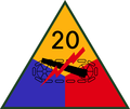20th US Armored Division SSI.png