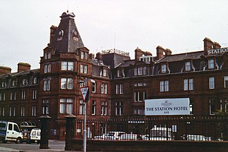 British Transport Hotels - Image: 21. Station Hotel, Ayr 001 1