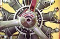 220 HP 9-Cylinder Continental Radial Aero Engine - Motive Power Gallery - BITM - Calcutta 2000 162.jpg