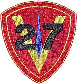 27th Marine Regiment (United States) - 27th Marine Regiment emblem