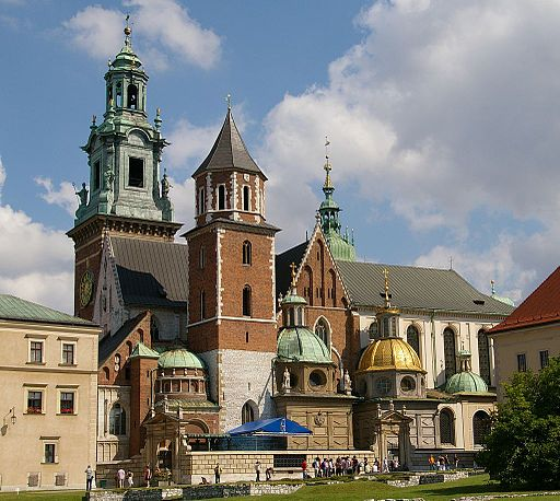 292 Krakow Katedra na Wawelu 20070805