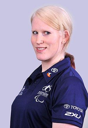 Meica Horsburgh - 2012 Australian Paralympic Team portrait of Christensen