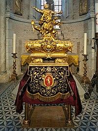 31 - Toulouse - Basilique Saint-Sernin - Reliquaire de St Sernin.jpg