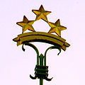 3 Five-pointed Stars. Riga Castle.jpg