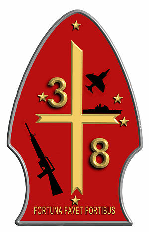 English: Official logo 3rd Battalion, 8th Mari...