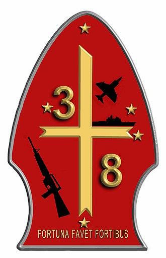 3rd Battalion, 8th Marines - 3rd Battalion 8th Marines Unit Insignia