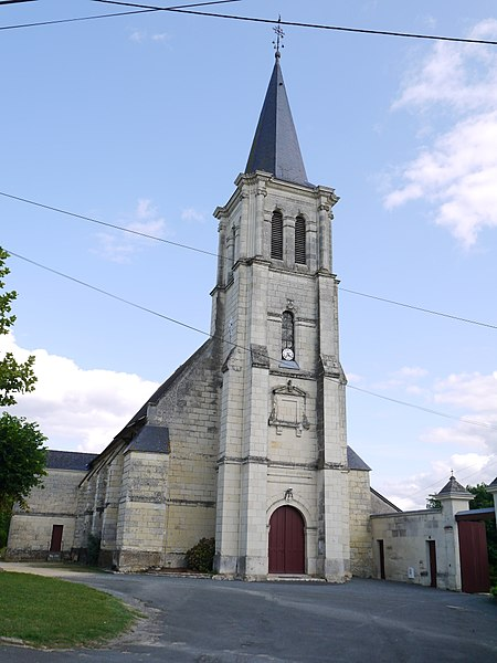 L'église Saint-Florent.