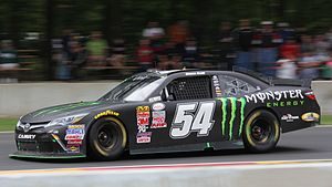 Monster Energy - The Monster Energy-sponsored No. 54 car, driven by Boris Said, in 2015