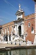 6315. - Venezia - Arsenale - Alessandro Tremignon (+ dopo 1711) - Ingresso di terra (1692-1694) - Foto Giovanni Dall'Orto - 4-Aug-2007.jpg