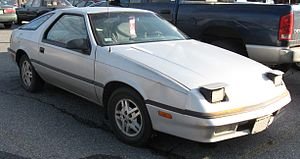 Dodge Daytona - 1987–1991 Dodge Daytona
