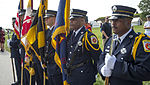 9-11 ceremony at Fort McHenry 140911-N-WX580-010.jpg