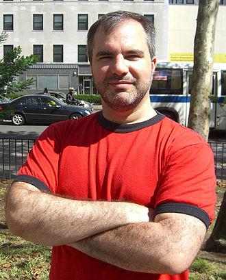 Peter V. Brett - Brett at the Brooklyn Book Festival
