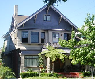 West Adams, Los Angeles - House in 20th Street Historic District