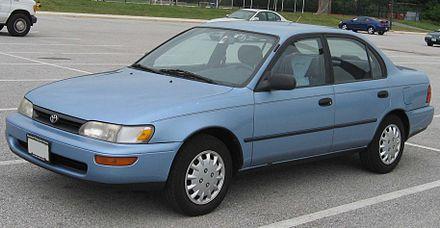 Toyota Corolla (E100) - Wikiwand