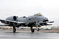 A-10 Thunderbolt II taking off at Bagram Air Base.jpg