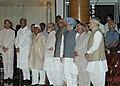 A.P.J. Abdul Kalam, the Prime Minister, Dr. Manmohan Singh, the Vice President, Shri Bhairon Singh Shekhawat, the Lok Sabha Speaker, Shri Somnath Chatterjee and former Prime Minister.jpg