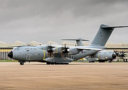 A400M Atlas at RAF Brize Norton MOD 45159377.jpg