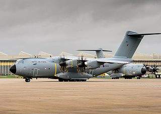 RAF Brize Norton Royal Air Force main operating base in Oxfordshire, England.