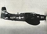 AD-4W Skyraider of VC-11 Det.I in flight off Korea, circa in 1952.jpg