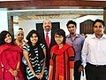 ADAS Keshap Poses for a Photo With Bangladeshi Youth Community Leaders (4837112733).jpg