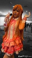 AMG2015 cosplayer of Asuna, Sword Art Online 20150830.jpg