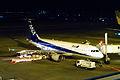 ANA A320(JA8313) @RJFM KMI (4522279344).jpg