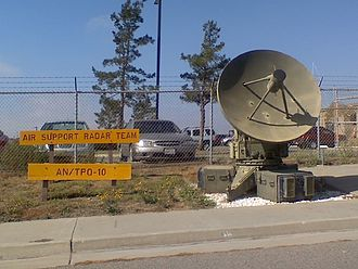 GE AN/MPQ-14 Course Directing Central - Image: ANTPQ 10 Radar at MASS 3