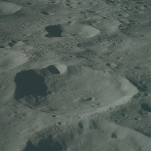 Hoffmeister (crater) - Hoffmeister crater