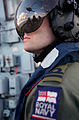 A Helicopter Pilot Onboard HMS Westminster MOD 45152538.jpg