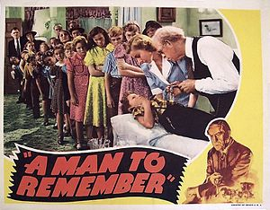 A Man to Remember - Theatrical release lobby card