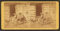 A cabin door on Sunday morning, from Robert N. Dennis collection of stereoscopic views.png
