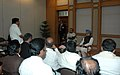 A delegation of MPs from Tamil Nadu calling on the Prime Minister, Dr. Manmohan Singh, in New Delhi on December 02, 2008.jpg