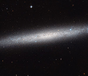 NGC 5023 - Image: A galaxy on the edge