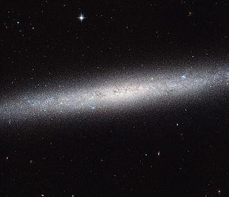 NGC 5023 - Image: A galaxy on the edge