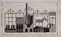 A labelled section through a porter brewery. Engraving by Mu Wellcome V0019359.jpg