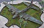 A miniature model of Boeing B-17E Flying Fortress.jpg
