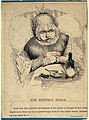 A monthly nurse, who looks after a mother and a newborn baby Wellcome V0011057.jpg