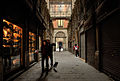 A passage in the Gothic quarter of Barcelona, Catalonia, Spain.jpg