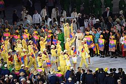 A scene from the Rio 2016 Olympic Games Opening Ceremony (28210389354).jpg