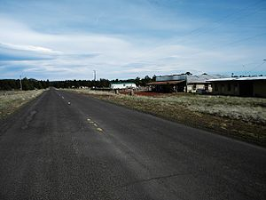 National Register of Historic Places listings in Coconino County, Arizona - Image: Abandoned U.S. 66 NRHP 89000377 Coconino County, AZ