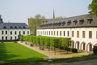 Ixelles - The Abbey of La Cambre, founded in 1196.