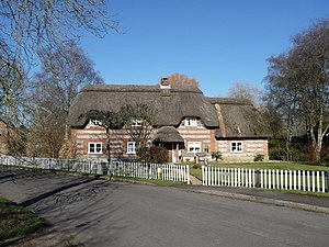 Abbotts Ann - Flint And Brick Cottage