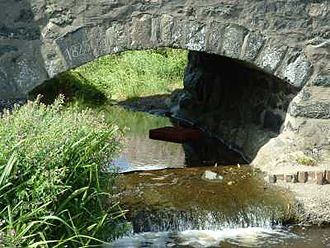 Aberdaron - The bridge over the Afon Cyll-y-Felin was one of two built in 1823 in the centre of Aberdaron.