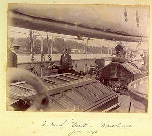 Aboard HMS Dart Brisbane June 1895.jpg