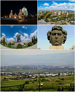 Abovyan Place in Kotayk, Armenia