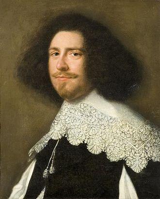 Abraham de Vries (painter) - Portrait of a Gentleman