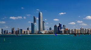 Abu dhabi skylines 2014