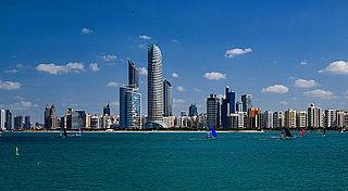 Capital city of the United Arab Emirates
